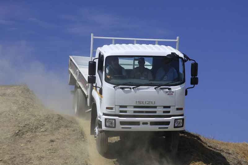 Isuzu f-series thumb