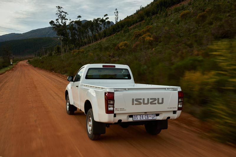Isuzu d-max-single-cab