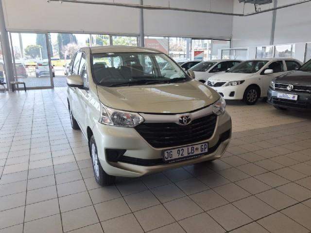 2019 Toyota Avanza 1.5 SX Auto for sale - 1732-13N3U11519