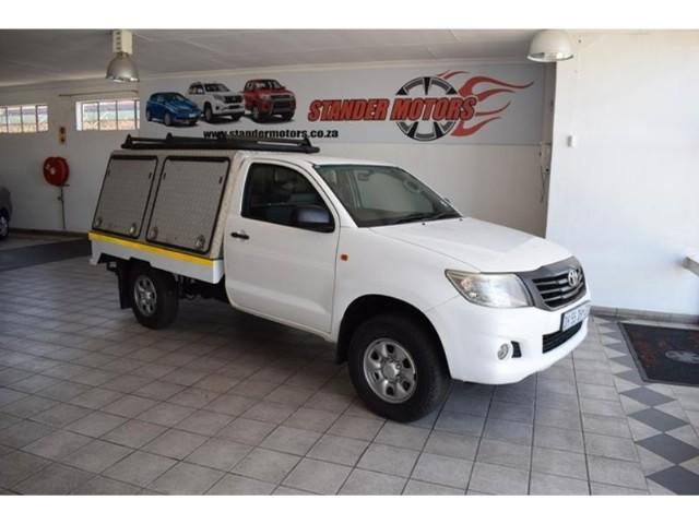 2014 toyota hilux 2.5 d-4d srx single cab for sale in gauteng